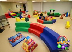 What a great soft indoor play area which our customer posted. Great for a church…