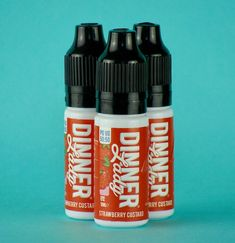 A strawberry taste with a creamy custard and caramel undertone for a distinctive, complex palette. Electronic Cigarette, Custard, Drink Bottles, Vape, Caramel, Strawberry, Palette, Dinner, Drinks