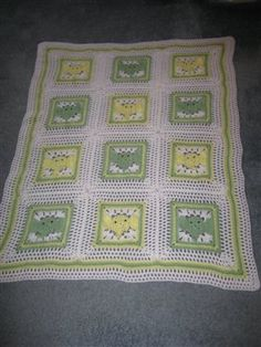 Elephant Squares... I made this for my 2nd cousin... super cute!