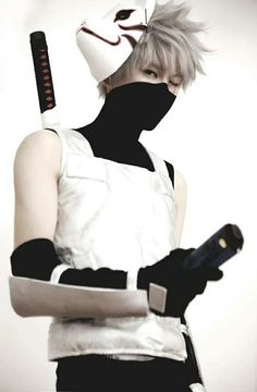 i'd be Kakashi Hatake, man of sharingan aka the copy-cat ninja