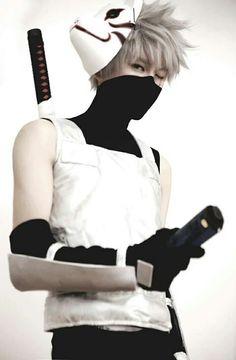 i'd be Kakashi Hatake, man of sharingan aka the copy-cat ninja