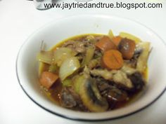 Try everything once, twice if you like it!: Pot Roast Soup