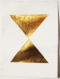 gold triangles.
