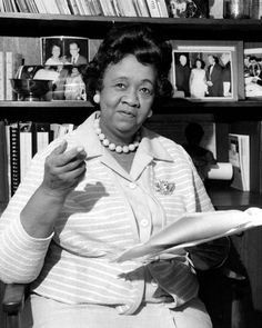 Civil Rights Activists: Dorothy Height, former president of the National Council of Negro Women, is regarded as a pioneer in the fight for equality for both African Americans and women. (Photo by NY Daily News Archive via Getty Images)