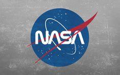 Grunge NASA Worm Logo Wallpaper [2880x1800]