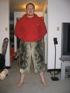 Home made sealskin pants