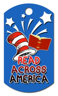 Read Across America is just around the corner. A great classroom idea for Dr. Seuss' Birthday is a Read Across America Brag Tag. Your student will love adding it to their brag tag collection. You can get your tagsat https://www.academicbragtags.com/achievement-awards/read-across-america/