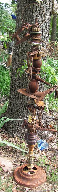 Junkyard creation by StJohnsGypsy, via Flickr
