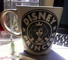 Disney princess mug