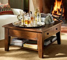This Might Match Nicely With My Pb Dining Room Set Camden Reclaimed Wood Coffee Table Decor Look Alikes Pottery Barn