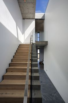 Glass, Wood & Concrete Stairs, Holiday Home in Yzerfontein, South Africa