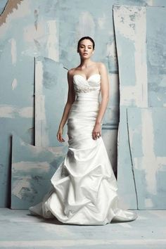 Mermaid & Fit and Flare Gowns Wedding Dresses Photos on WeddingWire