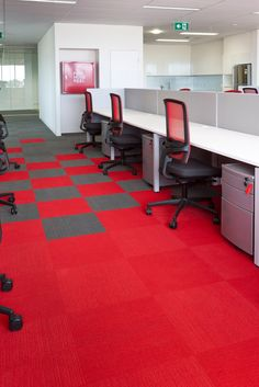 carpet tiles office installation - Google Search