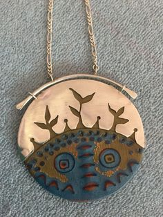 Polymer clay and silver