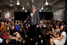 Eric Kuhn hits the runway