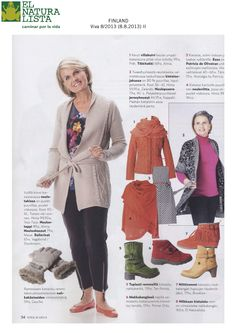 Happy to have our Duna N528 Arizona Henna featured in this month's Viva Magazine published in Finland!