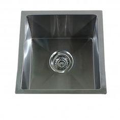 Nantucket Sinks Pro Series x Square Undermount Small Radius Stainless Steel Bar Sink