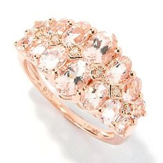 Embrace the romantic glow of this ring.  Just WOW!  I'd love to have it.