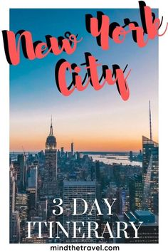 The Perfect Weekend in New York City + Travel Itineary Here's how to pack in the best of New York's attractions and cultural landmarks into a NYC itinerary for the perfect weekend break. Weekender, Nyc Itinerary, New York Attractions, Voyage New York, Les Continents, New York City Travel, Voyage Europe, United States Travel, City Break