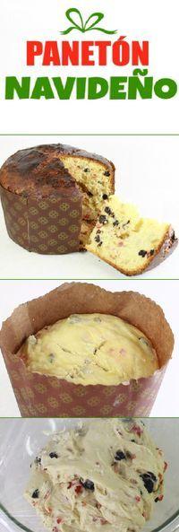 """LA RECETA MÁS FÁCIL DE PANETÓN (PANETTONE) """"Cooking by Michela. #panettone #panetone #pandulce #paneton #navideño #navidad #navideña #merrychristmas #postres #cheesecake #cakes #pan #panfrances #panes #pantone #pan #recetas #recipe #casero #torta #tartas #pastel #nestlecocina #bizcocho #bizcochuelo #tasty #cocina #chocolate Si te gusta dinos HOLA y dale a Me Gusta MIREN... Mexican Food Recipes, Sweet Recipes, Cake Recipes, Dessert Recipes, Christmas Deserts, Christmas Baking, Delicious Desserts, Yummy Food, Sweet Dough"""