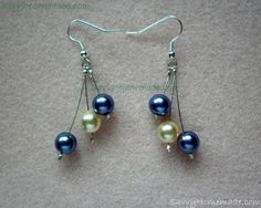 If you are looking for a lovely unique gift that's kind to your wallet then look no further. These pretty crimp bead earrings are very simple to make and can be created using almost any type of bead. I purchased all of the beads and findings I needed and got to work.