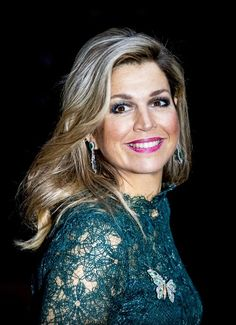 Queen Máxima Photos - Netherlands' Queen Maxima arrives for the awards ceremony for the Prince Claus Prize on December 6, 2017 in Amsterdam..Seven artists received the prize which is bestowed on artists who make a positive contribution to society. / AFP PHOTO / ANP / patrick van katwijk / Netherlands OUT - The Royal Week: December 04 - December 10