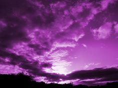 purple photography | purple sky - Colors Photo (27118172) - Fanpop fanclubs