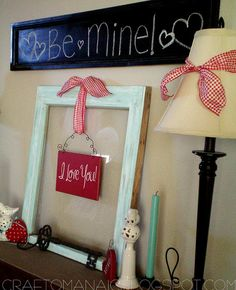 Valentine Decor Ideas.