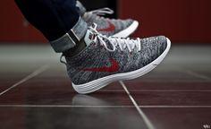 Nike Lunar Flyknit Chukka Wolf Grey 554969-001