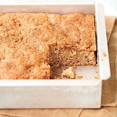 Apple-Cinnamon Coffeecake < Apple Dessert Recipes - Cooking Light