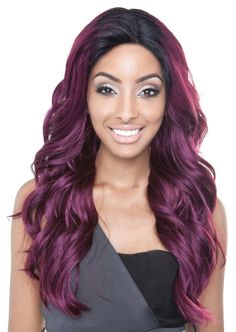 Isis Brown Sugar Seamless Human Hair Blend Lace Front Wig BS502 PARIS