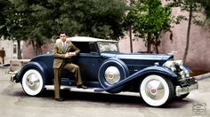 Clark Gables 1932 Packard Twin Six 905 Coupe Roadster