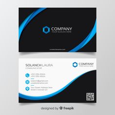 Colorful business card template Free Vector Free Business Card Templates, Free Business Cards, Professional Business Cards, Elegant Business Cards, Business Card Design, Letterhead Design Inspiration, Bussiness Card, Vector Freepik, Compulsive Overeating