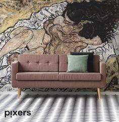 94679220b7669d Egon Schiele - Embrace Canvas Print • Pixers® • We live to change