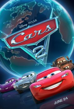 Cars 2 - Good movie, but not as good as the first. My kids were three and five at the time and had a hard time following along with the storyline. We will have to watch again.