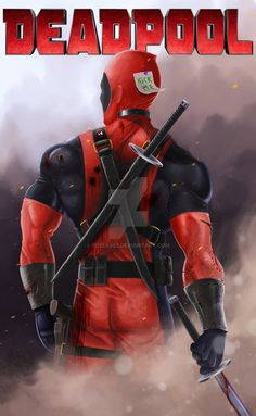 #Deadpool #Fan #Art. (Deadpool) By: Fessa303. (THE * 5 * STÅR * ÅWARD * OF: * AW YEAH, IT'S MAJOR ÅWESOMENESS!!!™)[THANK U 4 PINNING!!!<·><]<©>ÅÅÅ+