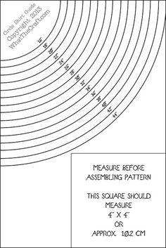 Circle Skirt template Printable PDF Pattern - Click Image to Close