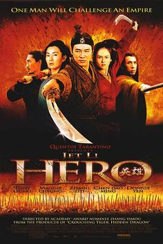 Hero - They call it the Citizen Kane of martial arts cinema... Yeah, thats about right. (9/10)