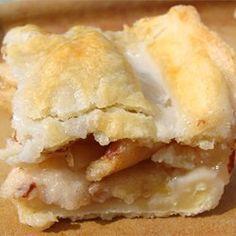 Danish Pastry Apple Bars II Allrecipes.com
