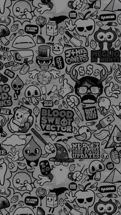 iPhone X Wallpaper 634866878699315838 Crazy Wallpaper, Pop Art Wallpaper, Hipster Wallpaper, Graffiti Wallpaper, Wallpaper Space, Cartoon Wallpaper, Mobile Wallpaper, Beautiful Wallpaper Images, Wallpaper Images Hd