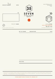 Invoice form front