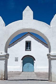 (via whitewashed, a photo from Atacama, Norte Grande   TrekEarth)  San Pedro de Atacama, Chile