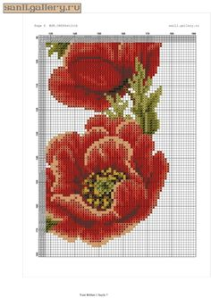 ru / # 6 – – sanli – Atiye Tepealan – Willkommen bei Pin World Cross Stitch Animals, Cross Stitch Flowers, Cross Stitch Patterns, Needlework, Sewing Patterns, Canvas, Handmade, Crafts, Bb