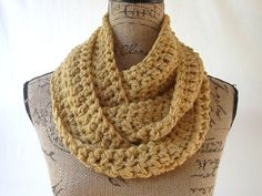 This scarf is crocheted using 2 strands of yarn at a time to give it a warmer and thicker feel.    Like this scarf, but want a different