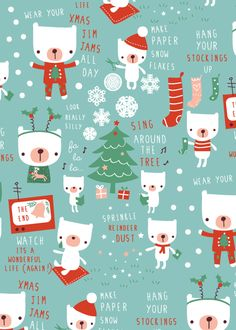 Lizzie Mackay Christmas design pattern