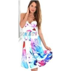 Love Floral Midi Dress - On Sale - www.lillilouise.com.au Email us for any preorders of items not in stock - Will ship worldwide