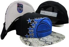 Orlando Magic Black Mamba Snake Snakeskin Adjustable Snapback Hat / Cap '47 Brand. $29.99