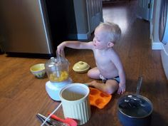 i'm going to make it (after all): 100 (Attempted) Ways to Entertain a Young Toddler, Day 43: Pasta Play