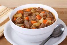 Crockpot Northwest Beef and Vegetable Soup via @SparkPeople