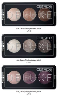 CATRICE Neuheiten ab Juli 2015,  sortimentsumstellung catrice, neue produkte sommer 2015, update fall winter 2015, lidschatten, Deluxe Trio Eyeshadow, 010 Antique C'est Trés Chic, 020 Meet The Gemstones, 030 Rose Vintouch